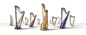 Salvi Harps models